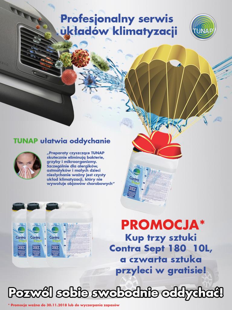 Promocja TUNAP Contra Sept 3+1 już dostępna dla wszystkich klientów!!!
